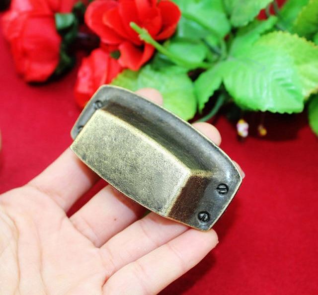 75*36mm Klassische Chinesische Shell Schublade Zieht Vintage ...