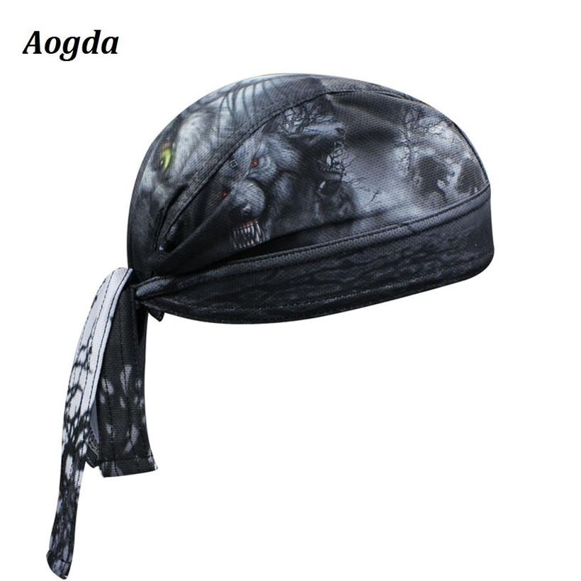 Prix pour Aogda Pac Biker cyclisme bandana pirates écharpe headsweats 12 En Direct/strong chapeaux robe cyclisme chapeau principal d'usage CC3538