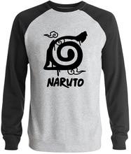 anime sweatshirt fleece raglan sleeve brand crossfit streetwear homme hoodies men naruto 2017 autumn casual clothing man