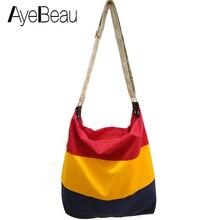 Canvas Hand Ladies Brand Cross Body Shoulder Crossbody Women Messenger Bags Handbags Bolsos Bolsas Sac A Main Femme De Marque