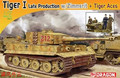Dragon 7440 1/72 WWII PzKpfw.VI Ausf.E Tiger I Late w/Zimmerit + Tiger Aces