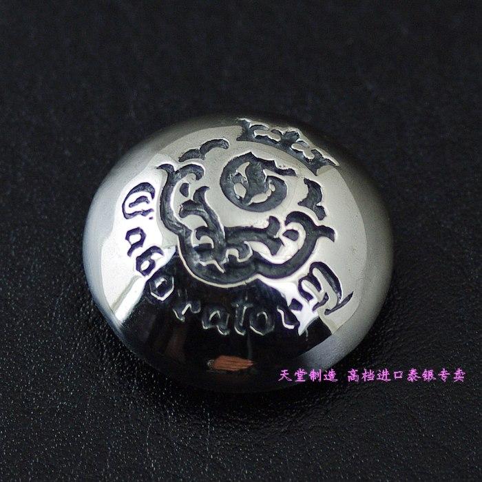 925 pure silver gabor stamp pattern bag buckle , cloth buckle балетки gabor