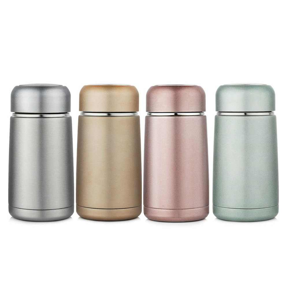 300ml Thermos Bottle Portable Drinkware Vacuum Flask Straight Insulated Cup Tea Coffee Travel Mug Chilly For Kids