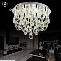 Modern Crystal Chandelier Crystal Lamp Bedroom Living Room Lamp Crystal Pendant Upscale Atmosphere Free Delivery