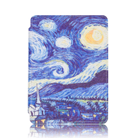 New PU Leather Protective Cover Case For Amazon Kindle 4 Kindle 5 E Book Reader 6
