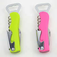 Free Shipping High Quality Handle Professional Wine Opener Multifunction Portable Screw Shaped Beer Bottle Opener Kitchen