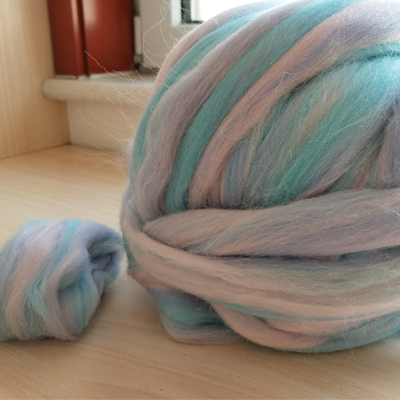 Очень тонкая Цветная смесь мериносовой шерсти для валяния Шерсть ровинг волокна 50 г идеально подходит для мокрого и игольчатого валяния|merino roving wool|merino felting woolmerino wool roving | АлиЭкспресс