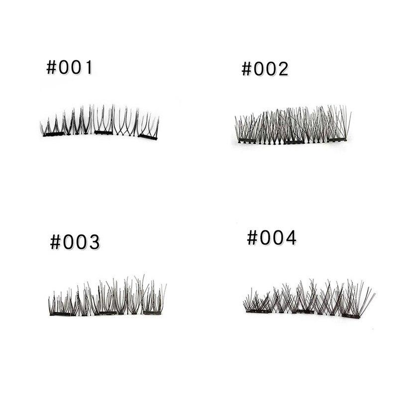 1Set Magnetic Volume Lashes Extension Fake Eye Lashes