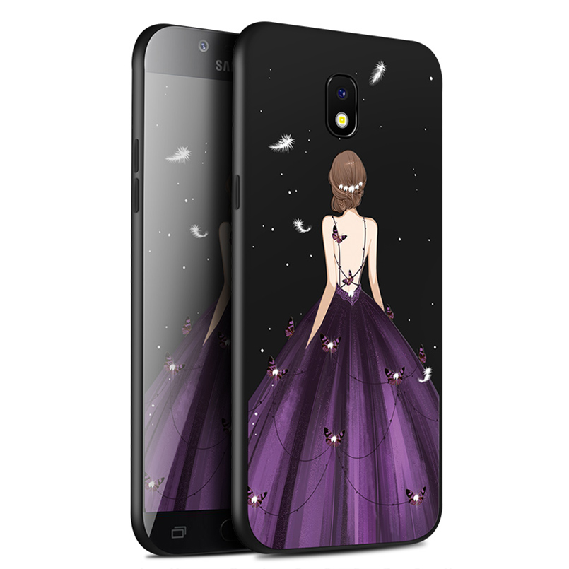 038bc48d03b ASINA silicona caso para Samsung Galaxy J7 2017 de lujo diseño Original  funda para Galaxy S7 S8 S9 más A5 a8 J8 2018 Nota 8 9 en Casos amueblada de  ...