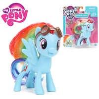 8cm Film My Little Pony Figuren Spielzeug Freundschaft ist Magie Rainbow Dash PVC Action Figure Pony Sammeln Modell Puppen brinqudoes