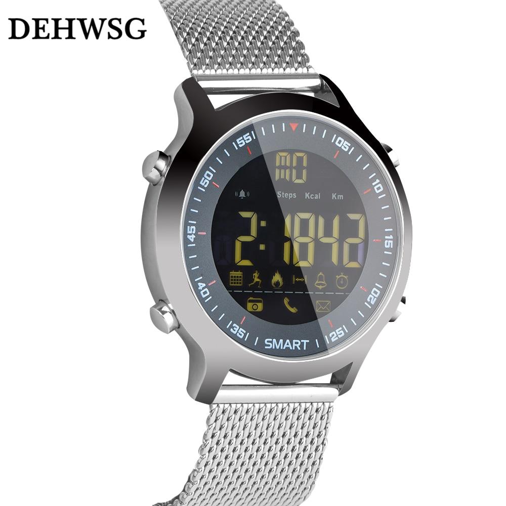 DEHWSG Smart Watch Waterproof IP68 5ATM Passometer Message Reminder Ultra long Standby Xwatch Outdoor Swimming Sport