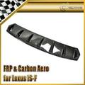 Estilo do carro Para Lexus 2008-2010 ISF Fibra De Carbono Difusor Traseiro (também Pode se encaixa CT200/GS350/IS250/IS350)