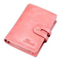 DANTE Fashion Short Women Wallet Female Genuine Leather Women's Wallets Zipper Design With Coin Purse Pockets Mini Wallet 2019