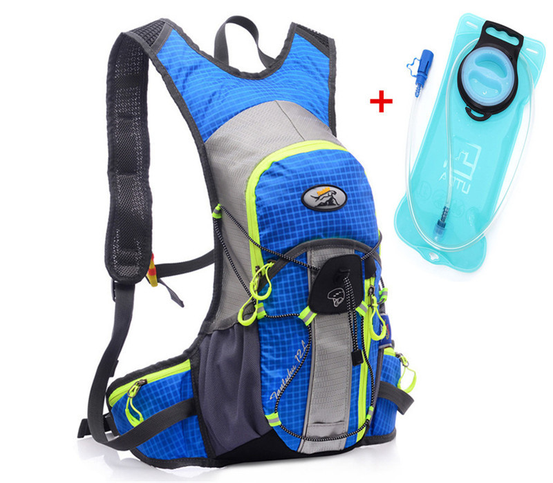 2L Water Bladder Bag waterproof women Backpack Hydration System Water Pouch MTB Road Riding Bicyle Bag 15L for men mochilas