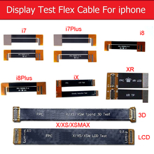 цена на 3D Touch Screen&LCD Display Test Extended Flex Cable For iphone 7 8 Plus X XS MAX XR Digitizer Tester Flex Ribbon Cable
