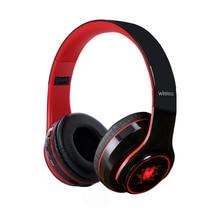 лучшая цена Glamshine Bluetooth Earphone Glowing Wireless Headphones With Microphone Gaming Stereo Bass Bluetooth Headset For Phone Computer