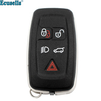 5 buttons remote key shell fob key housing case cover for LAND ROVER RANGE ROVER SPORT LR4 Vogue 2010 2013