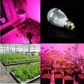 Full spectrum LED Grow lights  6W E27 LED Grow lamp bulb for Flower plant Hydroponics system AC 85V -265V grow light 1Pcs