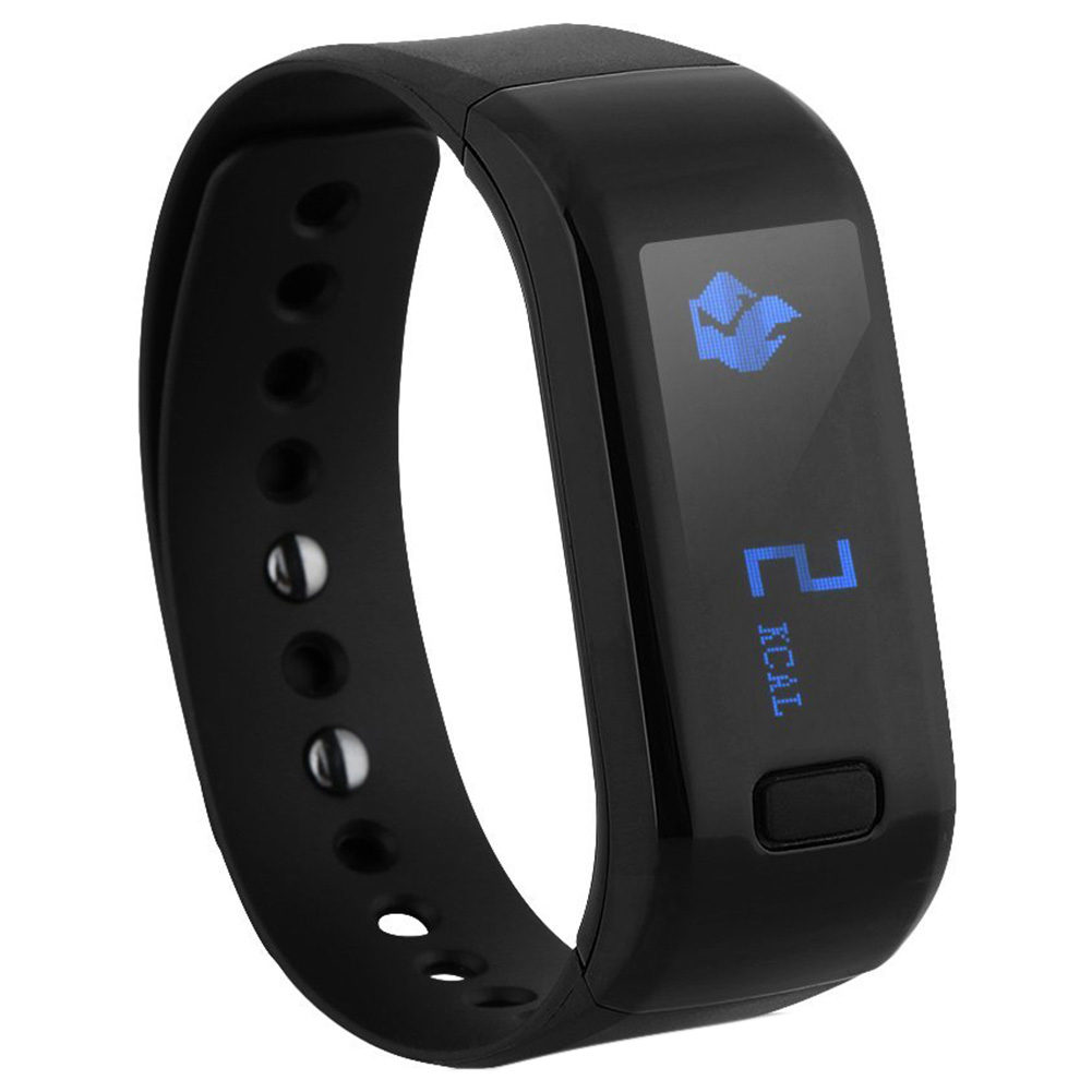 Smart Healthy Bracelet IP67 Waterproof Bluetooth Pedometer Tracking Calorie Sleep Wristband for Android IOS Cellphones