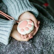Обогреватель для рук с изображением кошки и ладони, электротермическая пленка, зарядка через Usb для мобильного телефона, маленький теплый детский торт