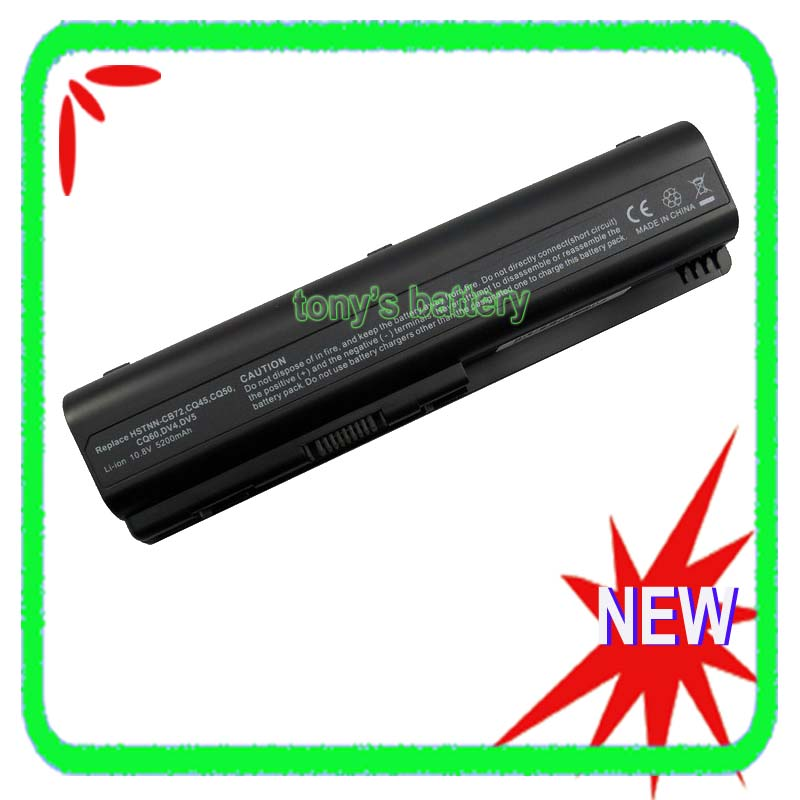 6 Cell Battery for HP Compaq CQ45 CQ50 CQ61 CQ71 HDX16 G71 HSTNN Q34C HSTNN C51C HSTNN W48C HSTNN UB72 HSTNN UB73