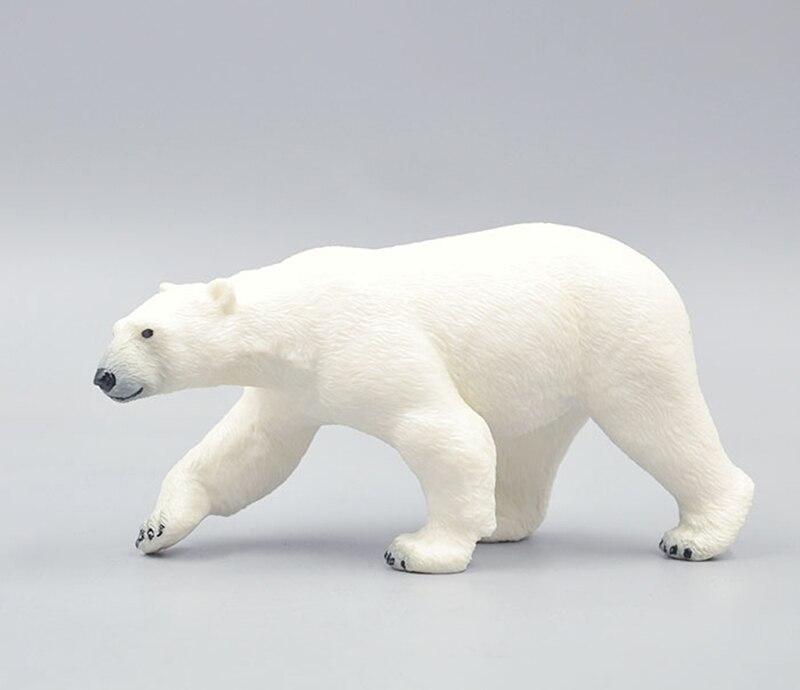 4 шт./компл. Polar Bear ПВХ Высокое качество животных моделирования модель игрушки Фигурки образования для Обувь для мальчиков Подарки