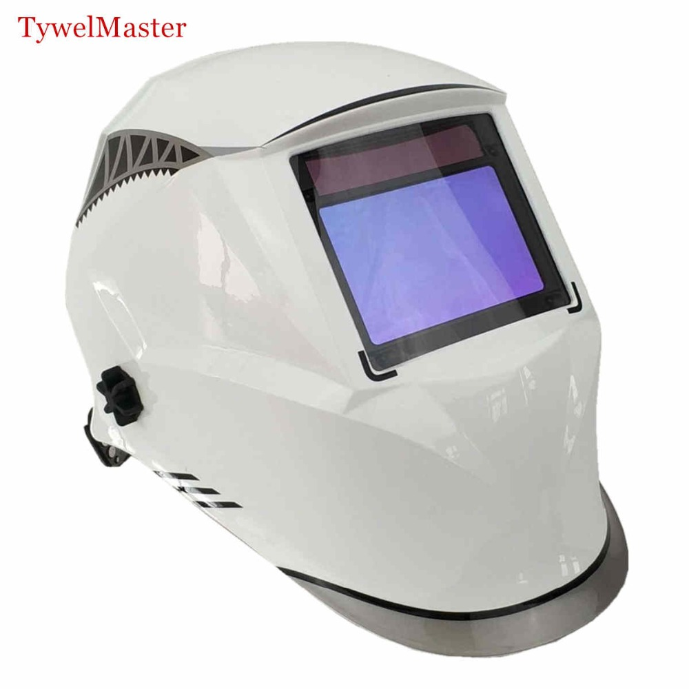 Welding Helmet View Size100x65mm(3.94x2.56) Best Optical Class 1111 4 Sensors Shade Range 4(3)-13 Auto Darkening Welding MaskWelding Helmet View Size100x65mm(3.94x2.56) Best Optical Class 1111 4 Sensors Shade Range 4(3)-13 Auto Darkening Welding Mask