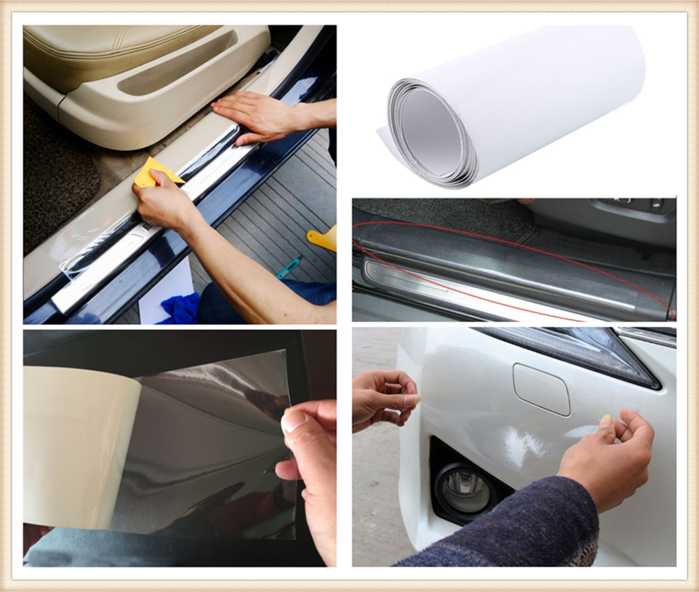 car Accessories Sticker Bumper Paint Protective Film Model 2/ 3/ 8M for Mercedes Benz E53 C63 C43 C-Class AMG GL550 F800 A200 image