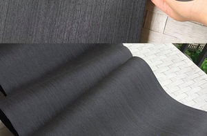 Image 2 - 2 Pezzi/lottp L:2.5 Metri di Larghezza: 55 centimetri di Spessore: 0.25 millimetri Inchiostro Nero Bianco Impiallacciatura di Legno Modello Impiallacciatura Decorativa