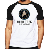 2017 Hot Movie TV Star Trek Beyond High Quality Men T Shirt Summer Cotton Tshirt Brand