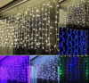 String Lights Curtain 3m X 1m 144 LED Icicle Lights Fairy Indoor Starry Lights For