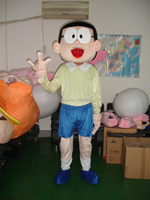 Hot Sale 2014 Character Adult Lovely Cute Doraemon Boy Mascot Costume Fancy Dress Halloween Party Costume