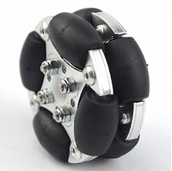 48mm Dual Aluminum Omnidirectional Wheel 48mm Robot Universal Wheel Aluminum Wheel Load 2kg48mm Dual Aluminum Omnidirectional Wheel 48mm Robot Universal Wheel Aluminum Wheel Load 2kg