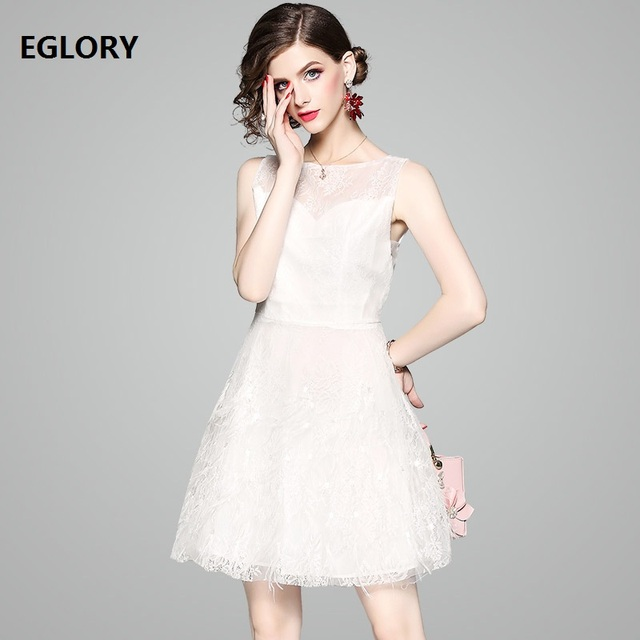 Sexy Backless Dress Summer Party Club Lady Hollow Out See Through Lace Dress Woman Sleeveless Night Club Wear Girls Mini Dress