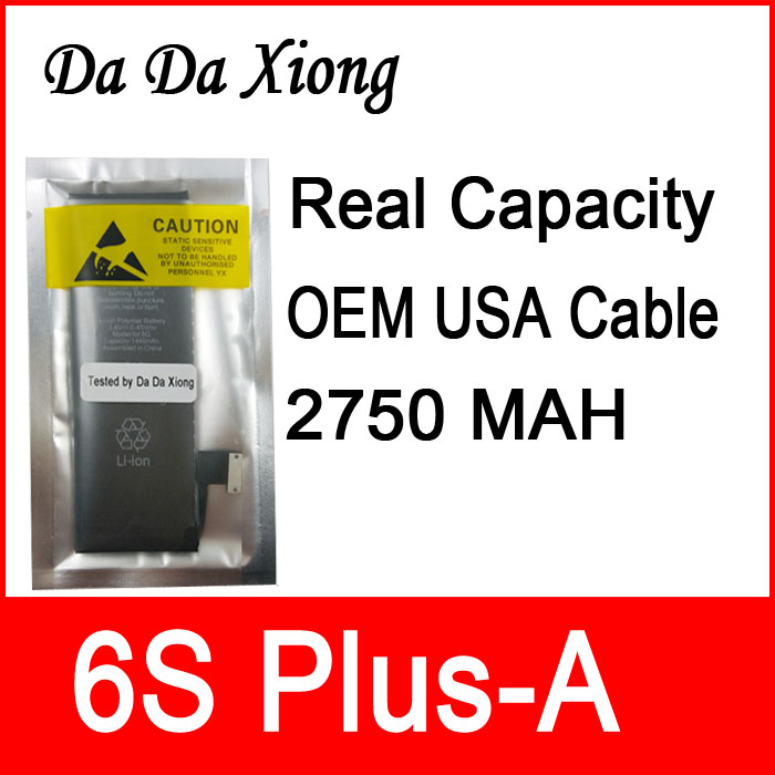 Zero Cyclic-Battery IPhone 6s Plus-A For Repair-Parts Real-Capacity 10pcs/Lot Protection-Board