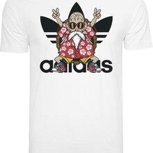 d3e7df7f7 T-Shirt Herren Dragon Ball Son Goku Muten Roshi Cartoon t shirt men Unisex  New