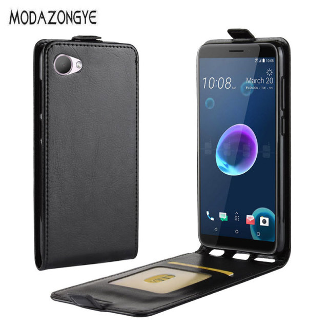 hot sale online ac276 b1497 US $3.36 20% OFF|For HTC Desire 12 Case HTC Desire 12 Cover 5.5 Luxury  Wallet PU Leather Back Cover Phone Case For HTC Desire 12 Desire12 Flip -in  ...
