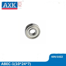 AXK 609/10 Bearing ABEC-1 ( 4 PCS ) 10x24x7 mm Miniature 609-10 Z ZZ Ball Bearings 609/10 RS 2RS Bearing 609/10ZZ 609/10RS