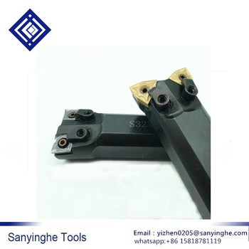 High quality Free shipping 1 piece Matched inserts WNMG08 S32N-MC12 CNC double-ended internal grooving and turning tool holder
