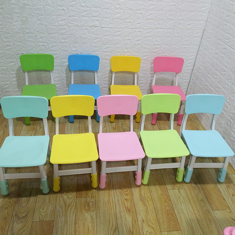 Children's Chair With Lifting Chair For Kindergarten Kids Furniture Large Quantity Discount Various Colours Minimalist Modern