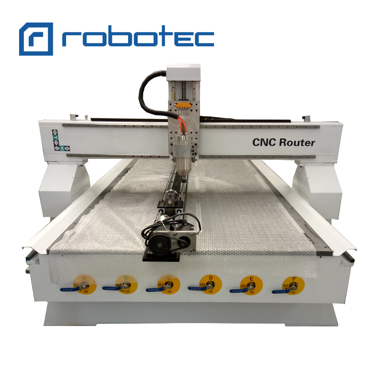 CE ISO Certificate 1325 Woodworking 3d Cnc Router For Solid Wood Composite Door/4 Axis Wood Working Machine