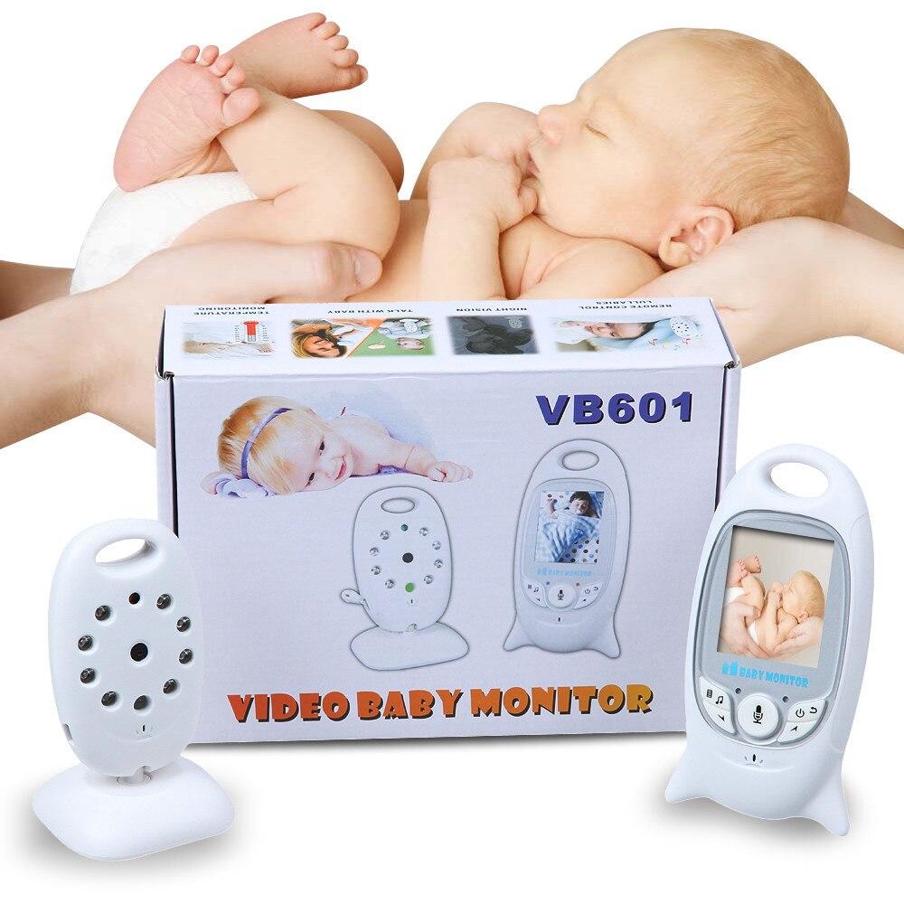 Babykam moniteur bébé sans fil vb601 2.0 pouces LCD IR Vision nocturne capteur de température 8 berceuses interphone bébé caméra vidéo nounou