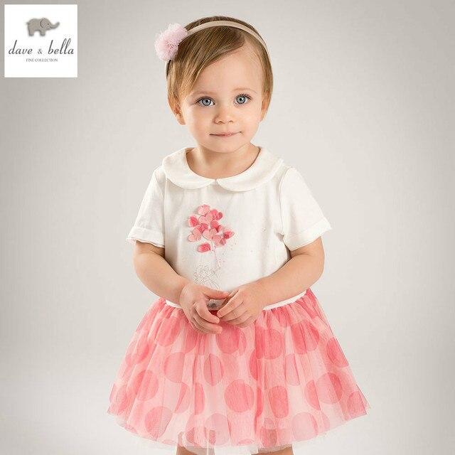 DB5280 dave bella sommer baby mädchen prinzessin kleid baby weiß ...