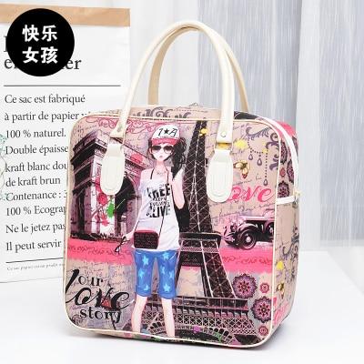 0911460810c1 Dropwow New hello kitty Female fashion Travel Bags Weekend Travel ...