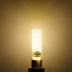 Image 4 - 50 יחידות מיני G9 מנורת LED 10 W ניתן לעמעום AC220V/110 V 2835 SMD 72LED נברשת אור הנורה תירס לבן חם/לבן משלוח חינם