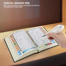 Numérique Reaedind stylo Lecteur De Stylo Coran Prière Livre Du Saint Coran Lire 8GB stylo parlant stylo de lecture avec des écouteurs pour Musulman Islamique