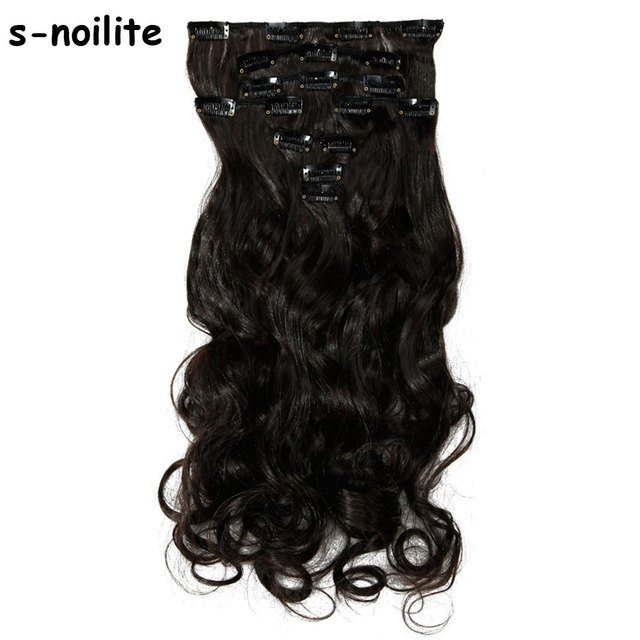 18 24 Inches 100 Natural Remy Clip In Hair Extensions 8 Pieces Full