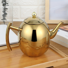 Высококачественный чайник из нержавеющей стали, кофейник с фильтром, индукционная плита для ресторанов, чайник для воды, 1л/1,5 л