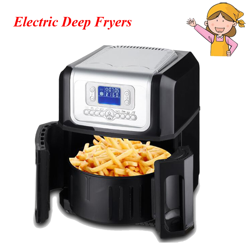 The Third Generation of the Whole Intelligent Large Capacity without Oil Electric Deep Fryers XK301 the five generation of large capacity intelligent french fries without oil electric deep fryers