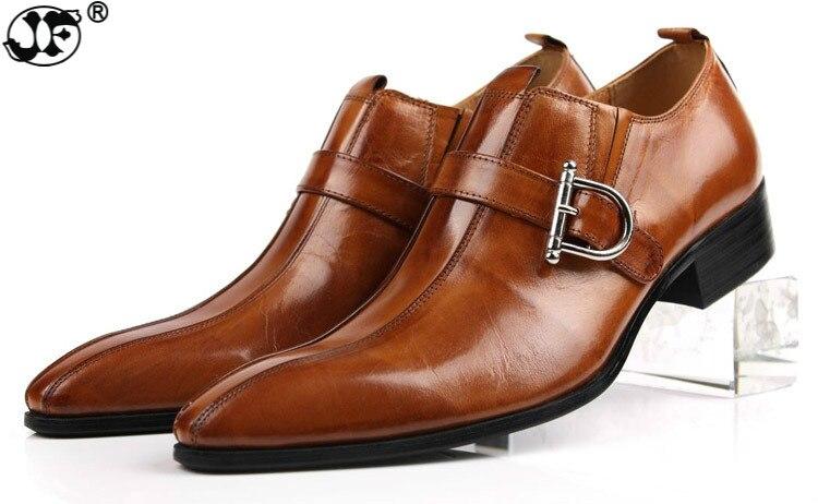 Marque chaussures pour hommes En Cuir Véritable Noir Brun Formelle Robe Double Moine Boucle Bretelles De Mariage chaussures richelieu Zapatos Hombre bnm